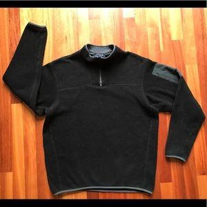 Arc'teryx Polartec Fleece 1/4 Zip L/S Medium Black
